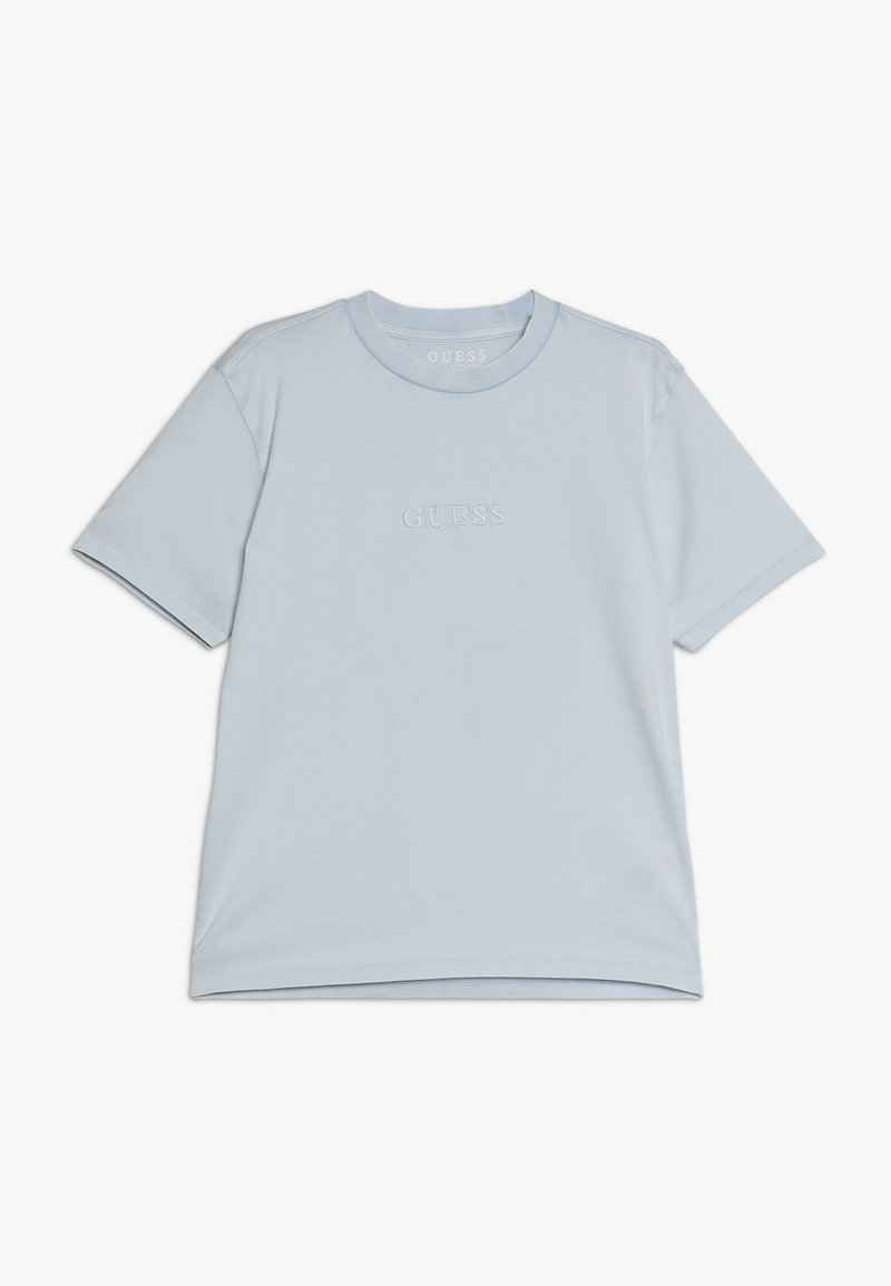 Guess - JUNIOR UNISEX OVERSIZE  - Basic T-shirt - starlight blue