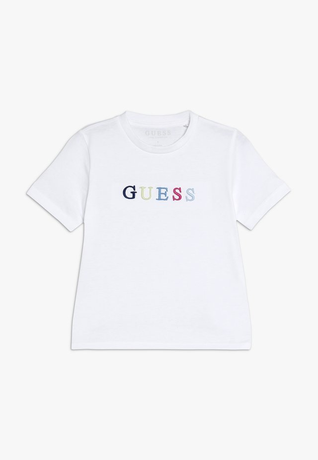 TODDLER UNISEX OVERSIZE - T-shirt print - true white