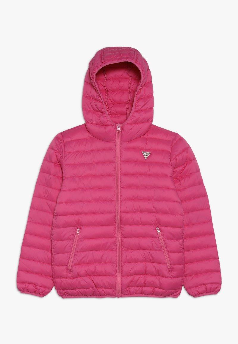 Guess - JUNIOR UNISEX PADDED PUFFER - Vinterjacka - pink