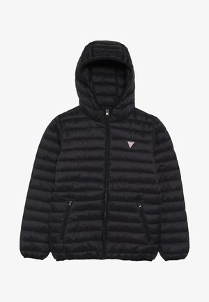 JUNIOR UNISEX PADDED PUFFER - Winter jacket - jet black