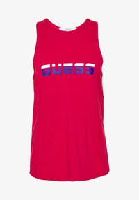 Guess - TANK TOP - Top - red - 4