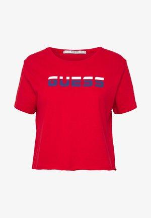 CROP  - Camiseta estampada - red