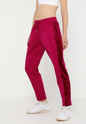 LONG PANT - Trainingsbroek - cherry passion