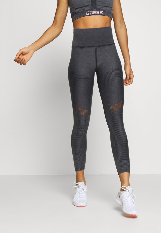 SEAMLESS LEGGING - Trikoot - black