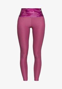 Guess - LEGGINGS - Legging - pink - 4