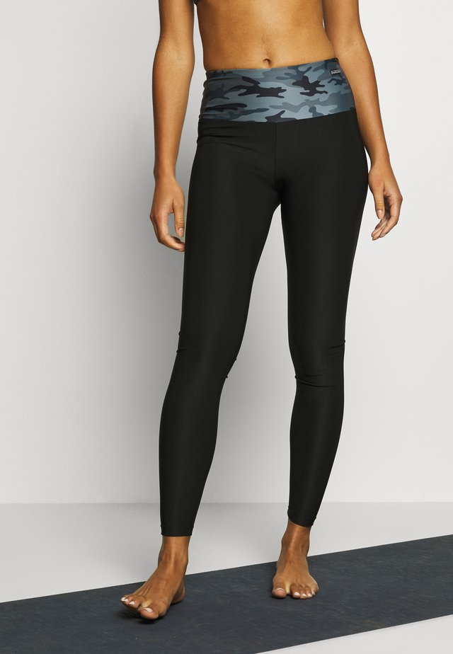 LEGGINGS - Trikoot - black/grey