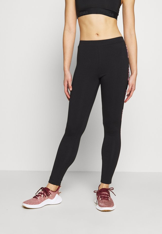 LEGGINGS - Trikoot - jet black