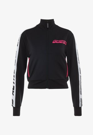 JACKET ZIP - Trainingsvest - black