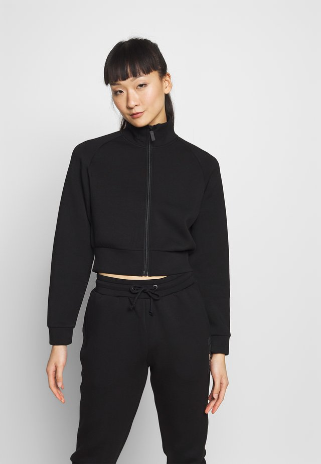 JACKET ZIP - Collegetakki - jet black