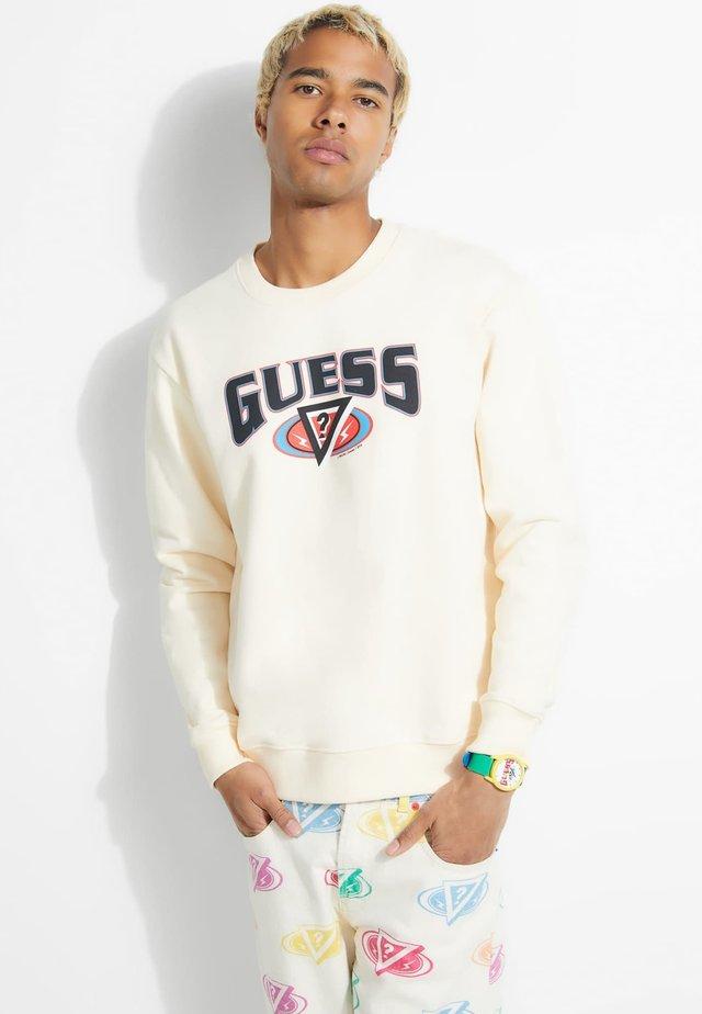 Sweater - mehrfarbig beige