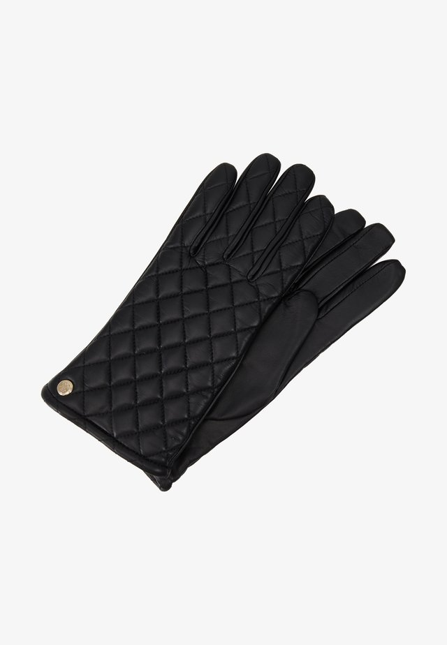 NOT COORDINATED LEATHER GLOVES - Gloves - black