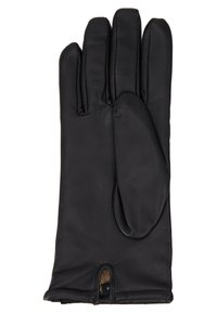 Guess - NOT COORDINATED LEATHER GLOVES - Guanti - black - 3