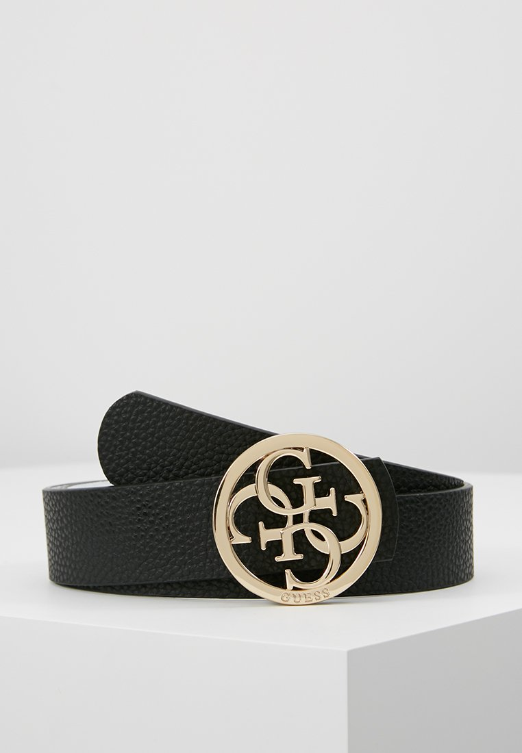Guess - BOBBI BELT - Gürtel - black/white
