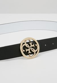 Guess - BOBBI BELT - Gürtel - black/white - 5