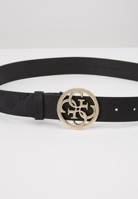 Guess - PEONY CLASSIC ADJUSTABLE BELT - Belt - black - 4