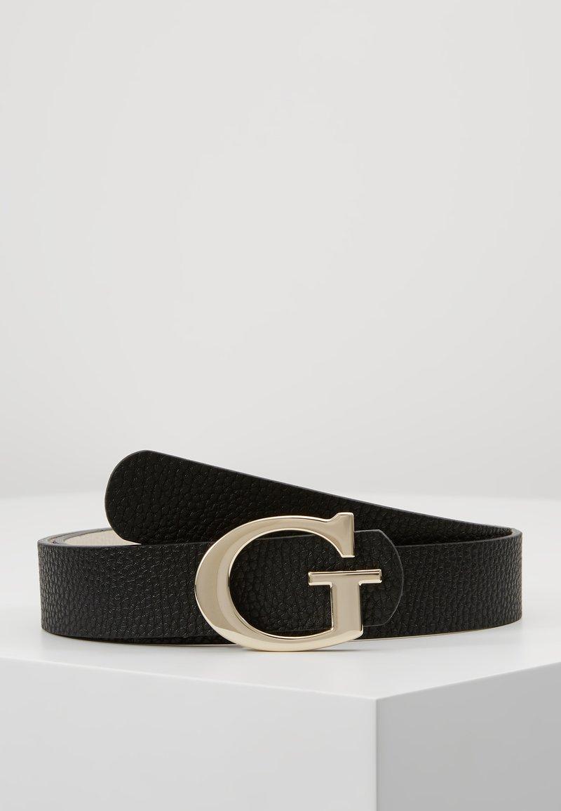 Guess - ARETHA PANT BELT - Belt - black/stone