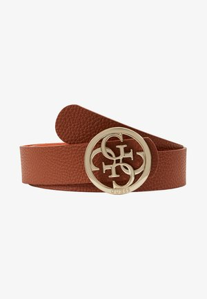 BOBBI REV NOT ADJUST PANT BELT - Cinturón - cognac/spice