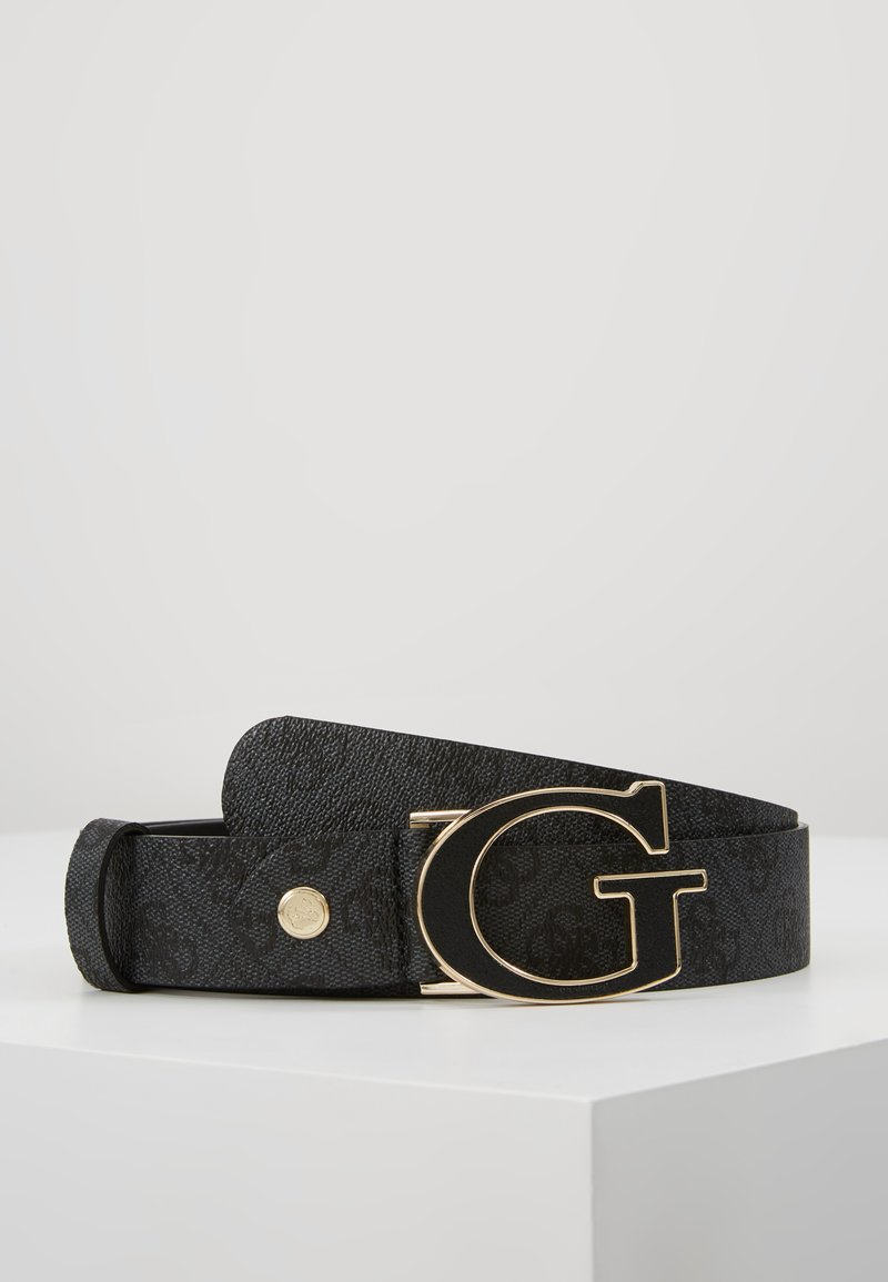 Guess - KERRIGAN ADJUSTABLE PANT BELT - Belt - coal
