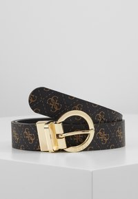Guess - ESME ADJUSTBLE PANT BELT - Belt - brown - 0