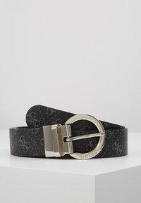 Guess - ESME ADJUSTBLE PANT BELT - Belt - coal - 0