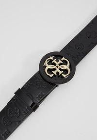 Guess - ADJUSTABLE PANT BELT - Belt - black - 4