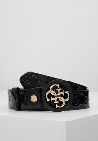 Guess - ADJUSTABLE PANT BELT - Belt - black - 0