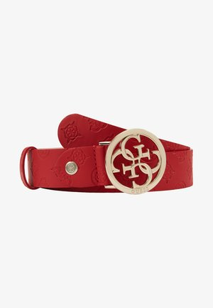 ILENIA ADJUSTABLE PANT BELT - Bælter - red