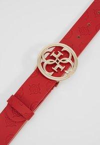 Guess - ILENIA ADJUSTABLE PANT BELT - Ceinture - red - 4