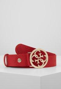 Guess - ILENIA ADJUSTABLE PANT BELT - Ceinture - red - 0