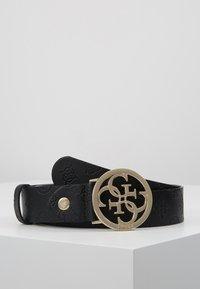 Guess - ILENIA ADJUSTABLE PANT BELT - Belte - black - 0