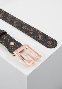 Guess - BRIGHTSIDE ADJUSTBLE PANT BELT - Belt - brown - 2