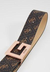 Guess - BRIGHTSIDE ADJUSTBLE PANT BELT - Belt - brown - 4