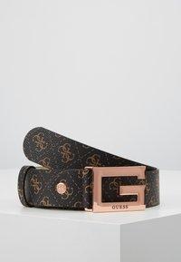 Guess - BRIGHTSIDE ADJUSTBLE PANT BELT - Belt - brown - 0