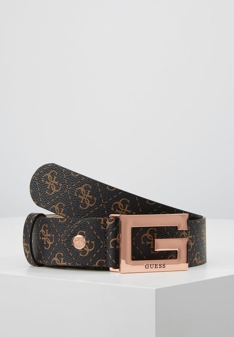 Guess - BRIGHTSIDE ADJUSTBLE PANT BELT - Belt - brown