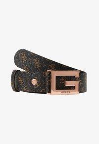 Guess - BRIGHTSIDE ADJUSTBLE PANT BELT - Belt - brown - 3