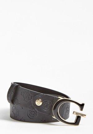 GÜRTEL LOGO LOVE - Belt - schwarz