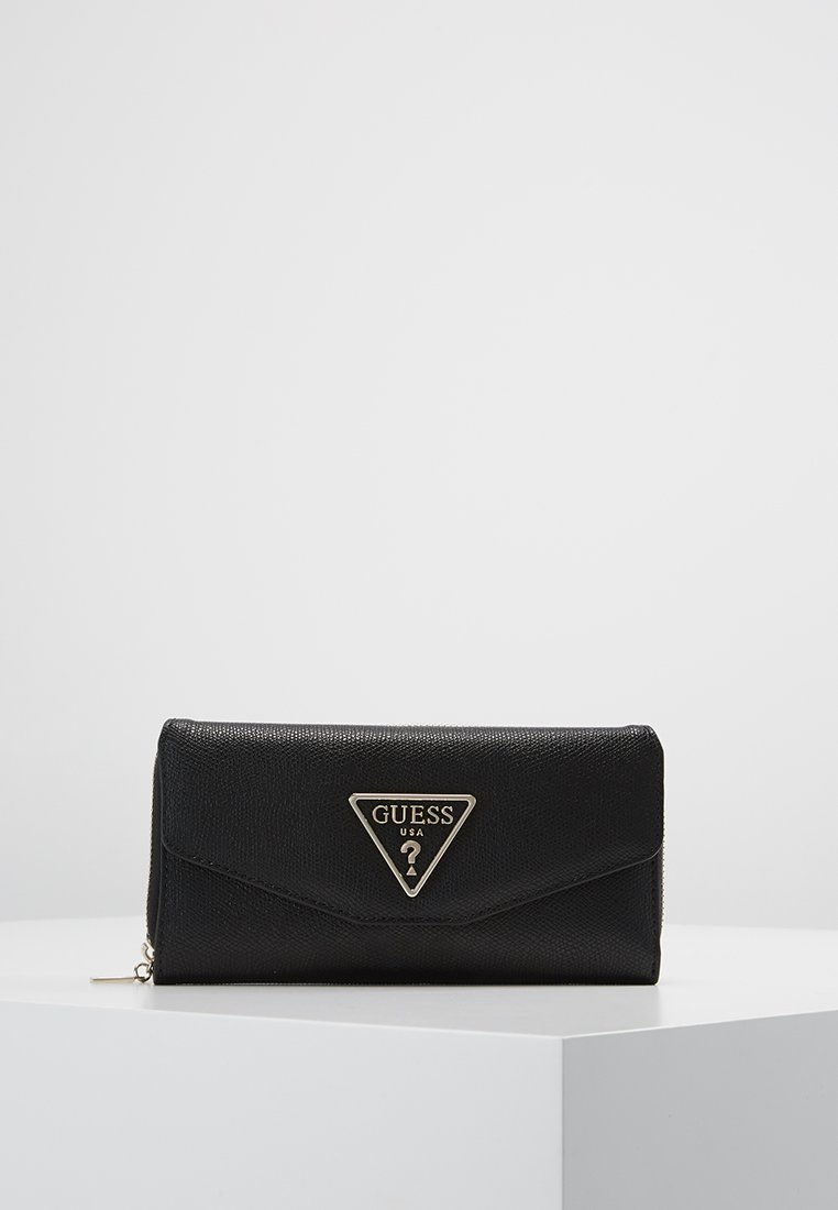 Guess - MADDY CLUTCH ORGANIZER - Portfel - black