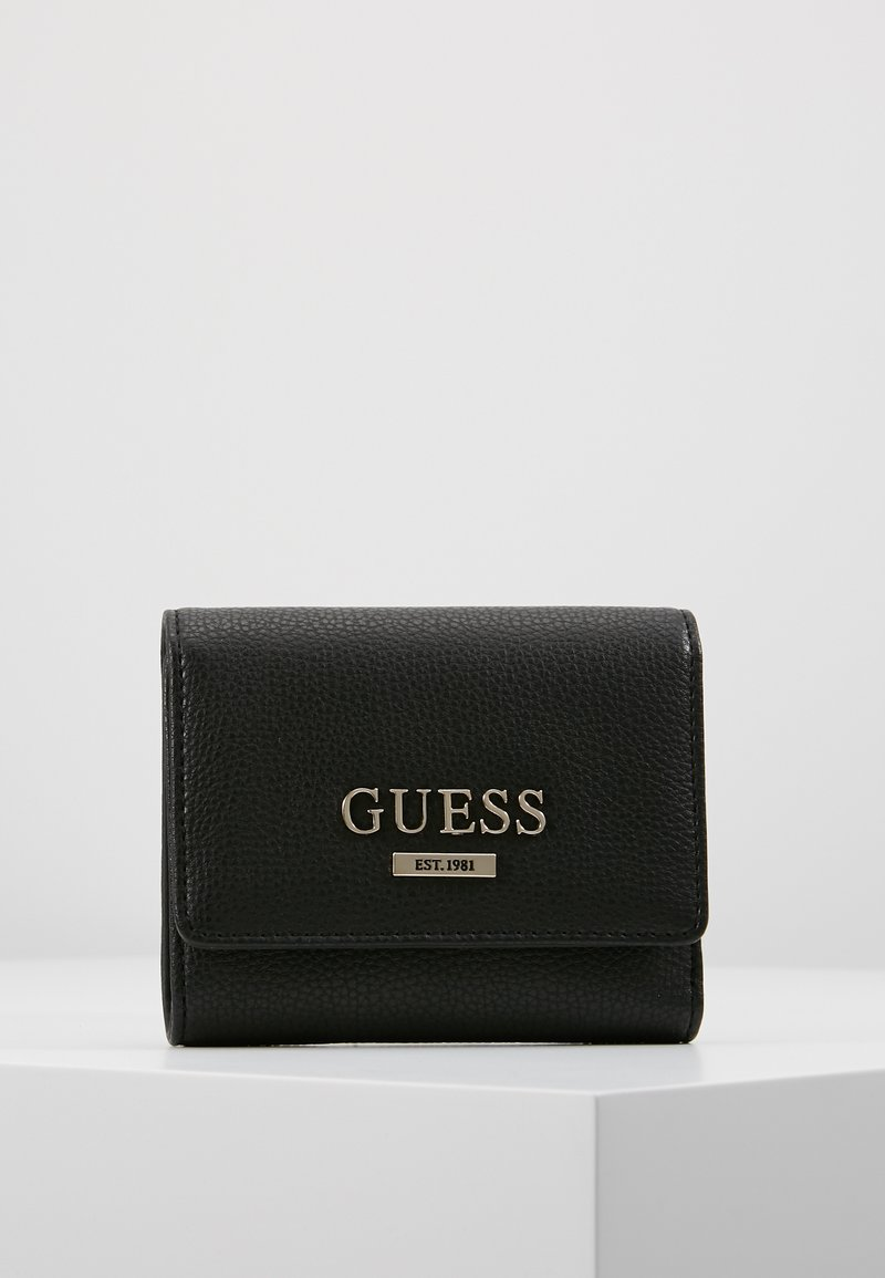 Guess - ALMA SMALL TRIFOLD - Wallet - black