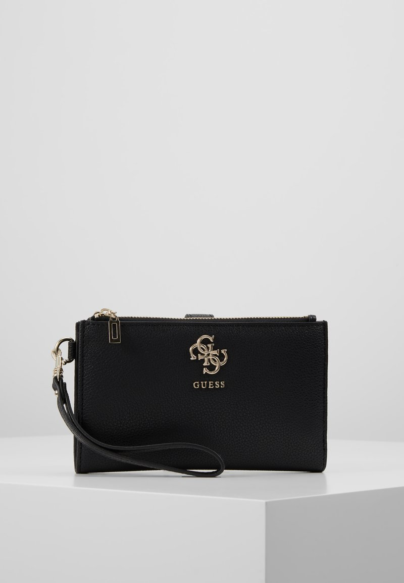 Guess - DIGITAL ZIP ORGANIZER - Wallet - black