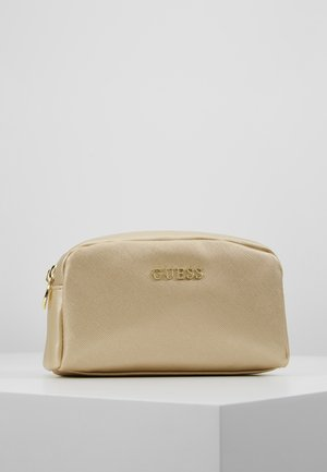 ARIANE DOUBLE ZIP - Trousse - gold