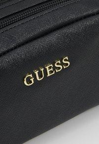 Guess - ARIANE DOUBLE ZIP - Toalettmappe - black - 5