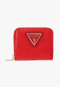 Guess - ASTRID SMALL ZIP AROUND - Lommebok - red - 1