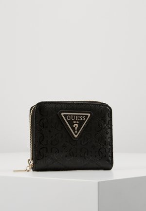 ASTRID SMALL ZIP AROUND - Lommebok - black