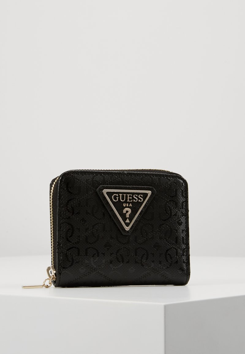 Guess - ASTRID SMALL ZIP AROUND - Wallet - black