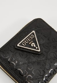 Guess - ASTRID SMALL ZIP AROUND - Wallet - black - 2