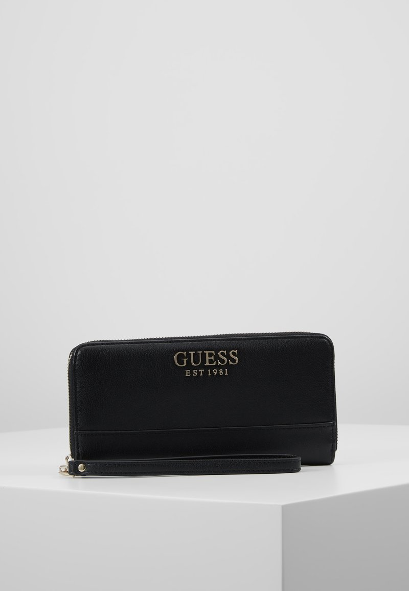 Guess - SHEROL LARGE ZIP AROUND - Wallet - black