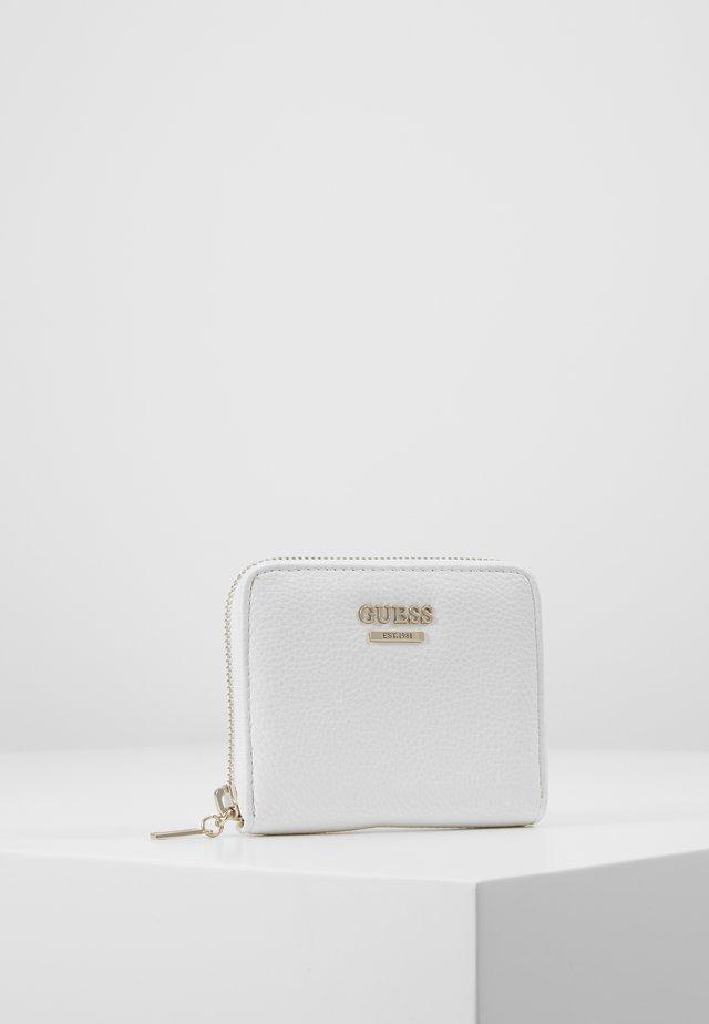LIAS SMALL ZIP AROUND - Lompakko - white