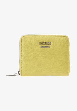 LIAS SMALL ZIP AROUND - Lommebok - yellow