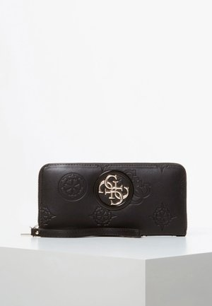 GUESS GROSSES PORTEMONNAIE OPEN ROAD - Wallet - schwarz