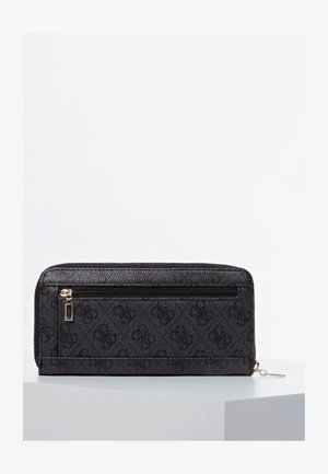 GUESS GROSSES PORTEMONNAIE ALBY - Wallet - schwarz